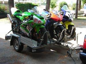 Foto di servizio di trasporto moto roma